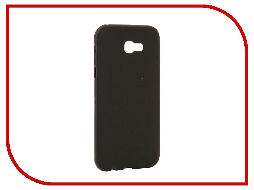 Аксессуар Чехол для Samsung Galaxy A7 2017 Neypo Soft Matte Silicone Black NST0323 аксессуар чехол samsung galaxy a7 2017 with love moscow silicone keep calm 5062