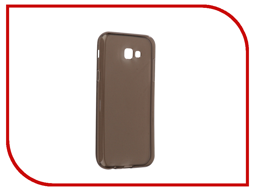 Аксессуар Чехол Samsung Galaxy A7 2017 Neypo Silicone Transparent-Grey NST0136