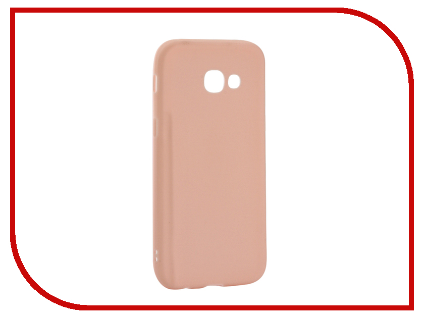Аксессуар Чехол Samsung Galaxy A5 2017 Neypo Soft Matte Silicone Light Pink NST2904