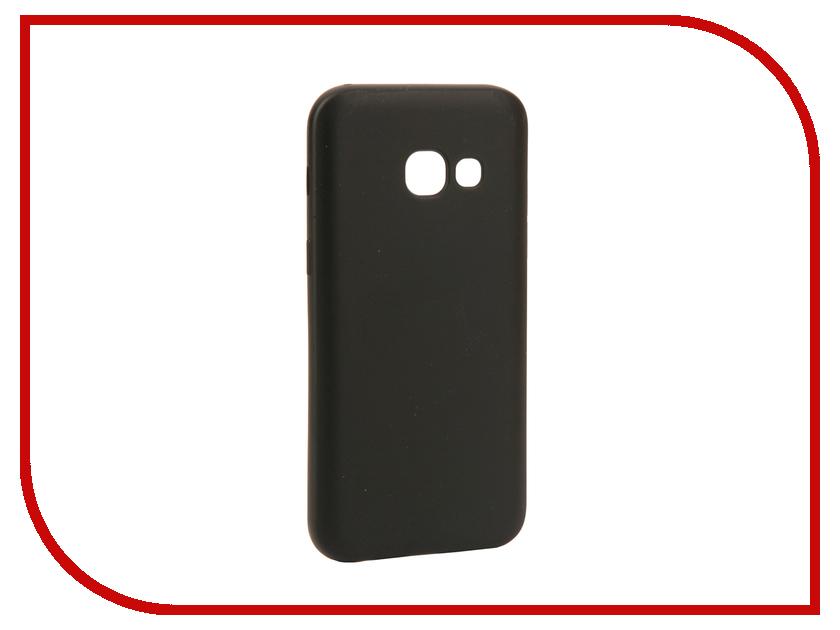 Аксессуар Чехол Samsung Galaxy A3 2017 Neypo Silicone Neon Black NSTN2735 аксессуар защитное стекло samsung galaxy a3 2017 solomon full cover black
