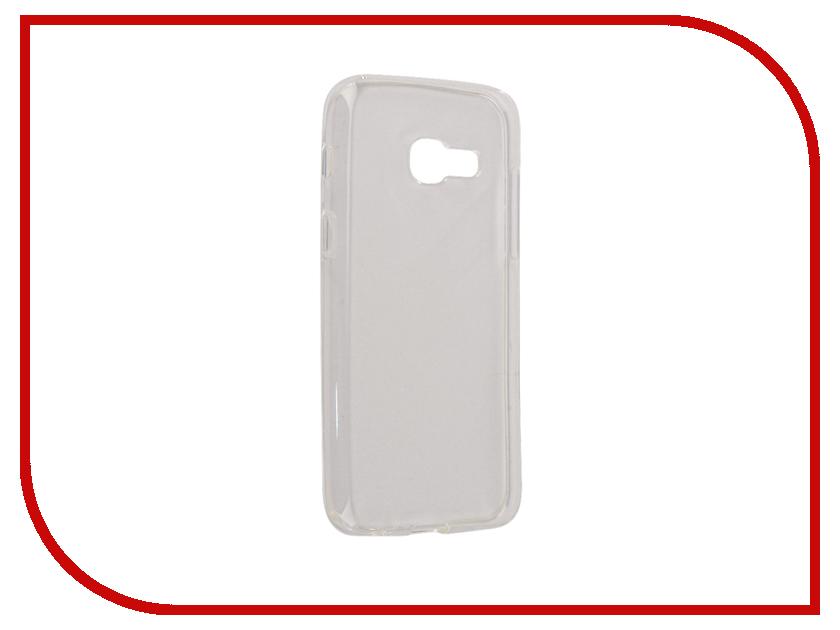 Аксессуар Чехол Samsung Galaxy A3 2017 Neypo Silicone Transparent NST0122 аксессуар чехол samsung galaxy a3 2017 cojess tpu 0 3mm transparent
