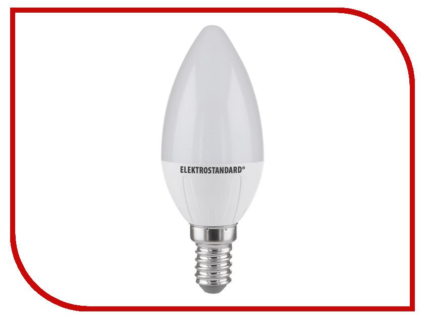 Лампочка Elektrostandard Свеча CD LED E14 6W 3300K контроллер elektrostandard lsc 003 12v