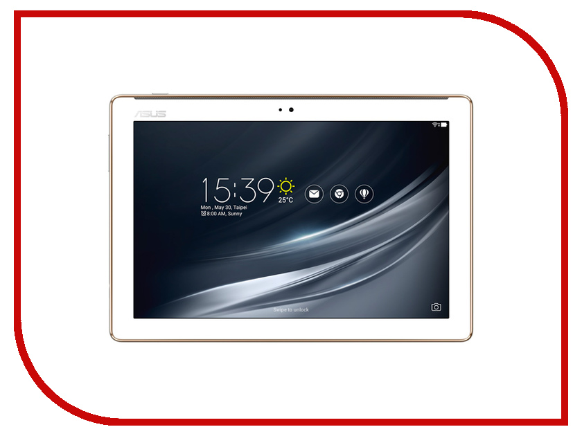 Планшет ASUS Zenpad 10 Z301MFL-1B008A 90NP00L1-M00890 White (MediaTek MT8735 1.45GHz/3072Mb/32Gb/Wi-Fi/Cam/10.1/1920x1200/Android new 10 1 inch for asus zenpad 10 z300m lcd display touch screen digitizer assembly replacement parts yellow connector