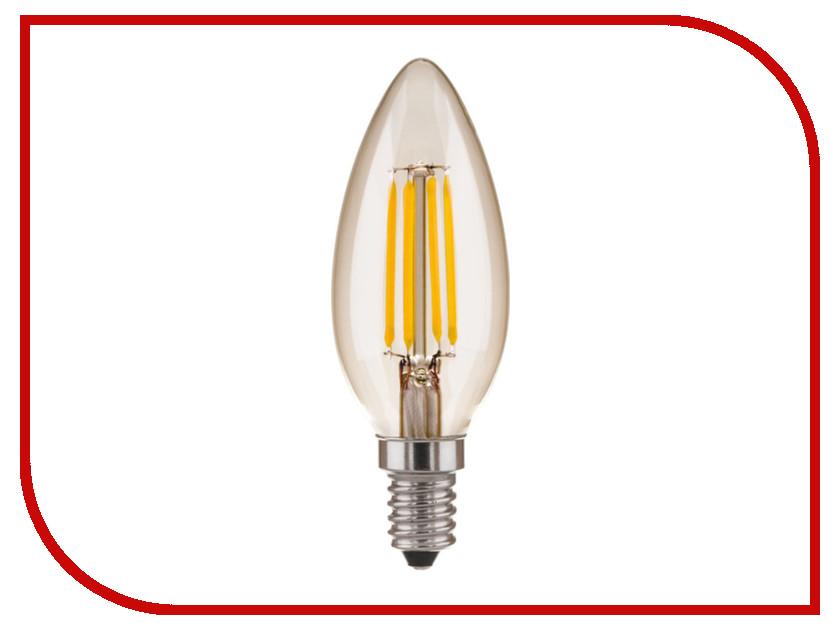 Лампочка Elektrostandard Свеча CD F E14 5W 3300K elektrostandard лампочка elektrostandard led c37 cd 6w 3300k e14