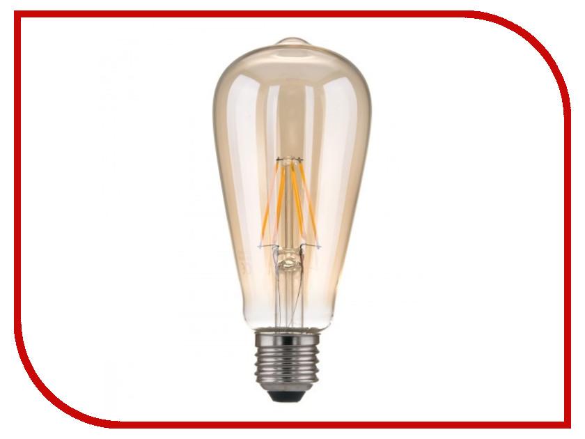 Лампочка Elektrostandard Classic FD E27 6W 3300K elektrostandard лампа светодиодная elektrostandard classic груша матовая e27 12w 3300k 4690389085789