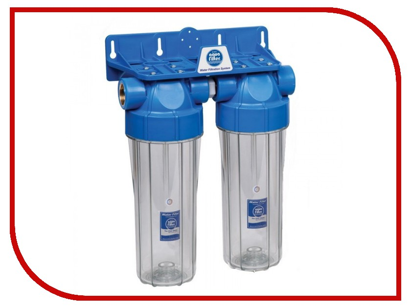 Фильтр для воды Aquafilter FHPRCL12-B-TWIN fcps5m10b aquafilter