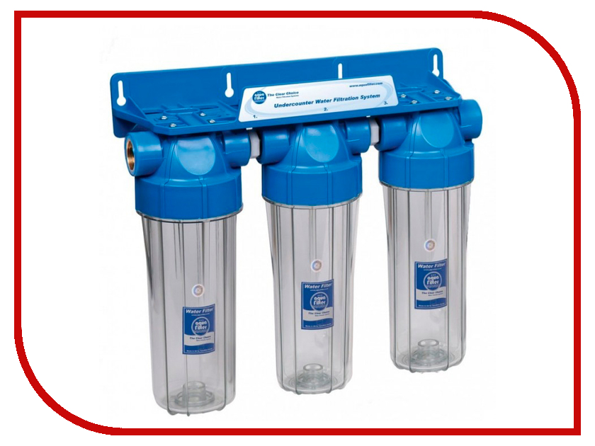 Фильтр для воды Aquafilter FHPRCL12-B-TRIPLE fcps5m10b aquafilter