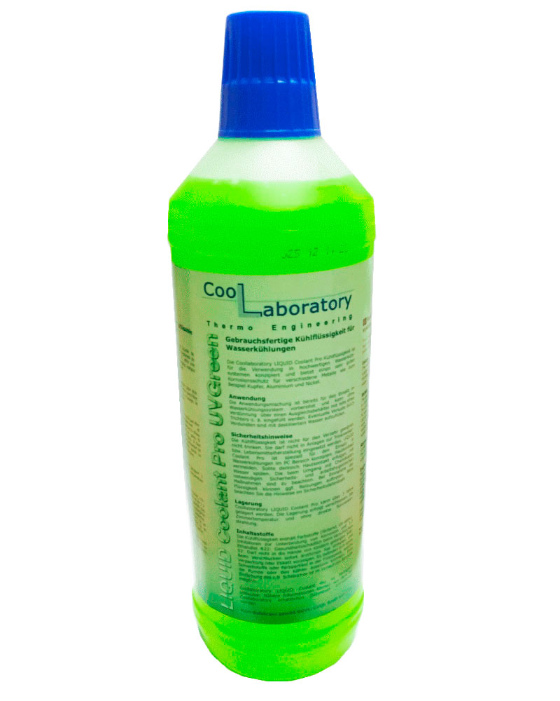 Хладагент для СВО Coollaboratory Liquid Coolant Pro 1L Green CL-CP-UGR-1L