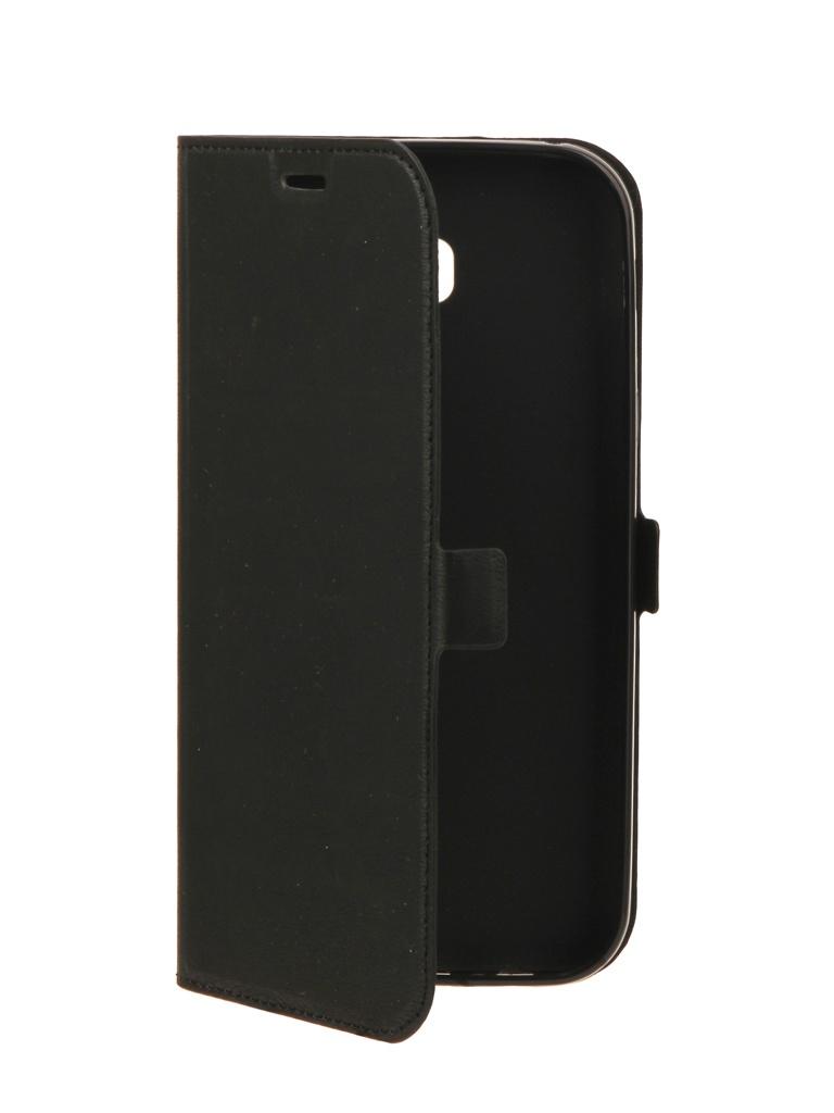 Аксессуар Чехол DF для Samsung Galaxy A7 (2017) sFlip-15 Black