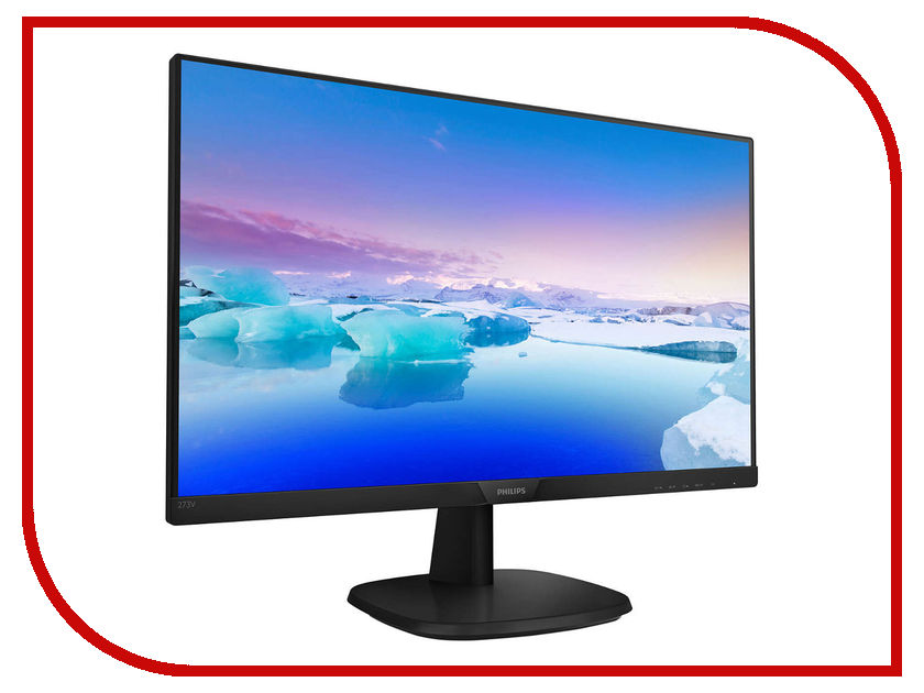 Монитор Philips 273V7QSB/00 Black монитор philips 272b7qpjeb 00 black
