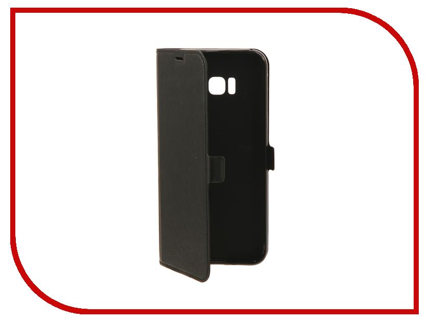 Аксессуар Чехол Samsung Galaxy S8 Plus DF sFlip-18 Black samsung galaxy s plus i9001