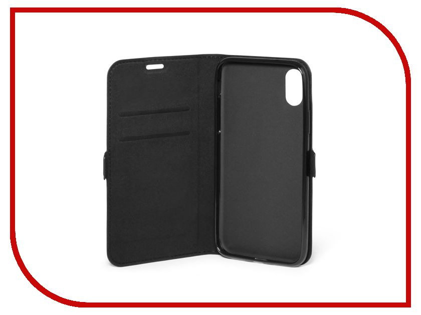 Аксессуар Чехол DF для APPLE iPhone X iFlip-02 аксессуар чехол df soft touch для apple iphone 7 islim 05
