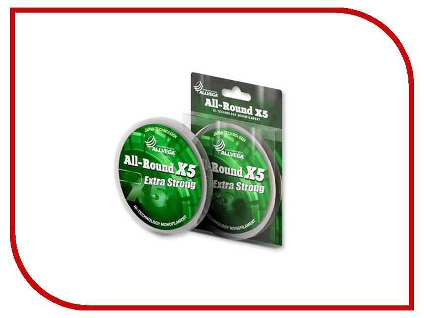 Леска Allvega All-Round X5 50m 0.09mm LAR5009
