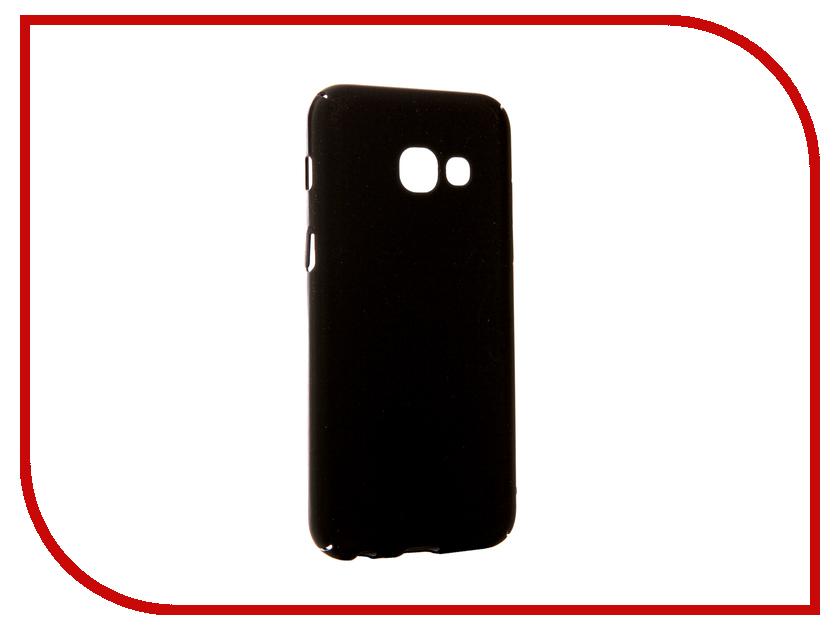 Аксессуар Чехол Samsung Galaxy A3 2017 Neypo Soft Touch Black ST-02097 аксессуар защитное стекло samsung galaxy a3 2017 solomon full cover black