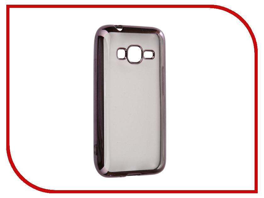 Аксессуар Чехол Samsung Galaxy J1 mini LTE J106 2017 Neypo Silicone Aura Grey Metallic NSTA0226 j106