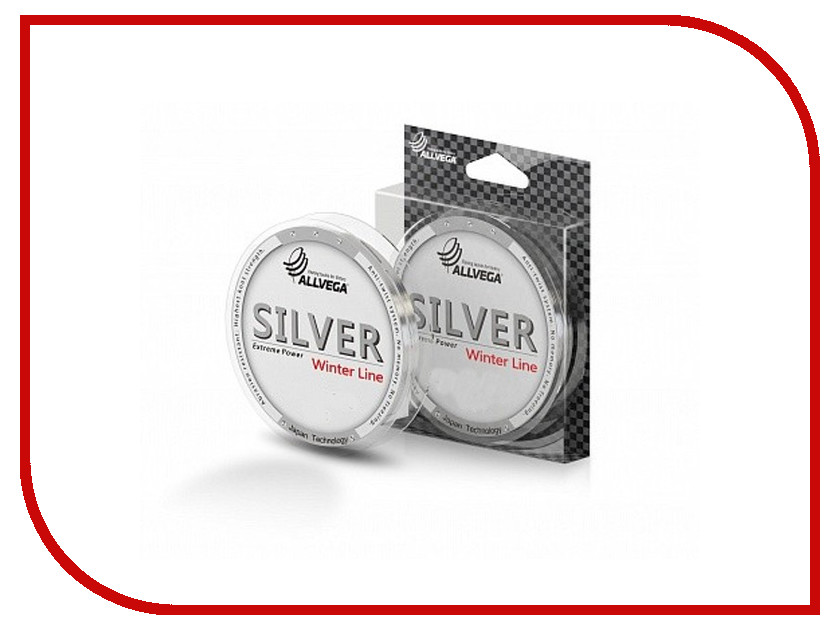 Леска Allvega Silver 50m 0.1mm SIL50010