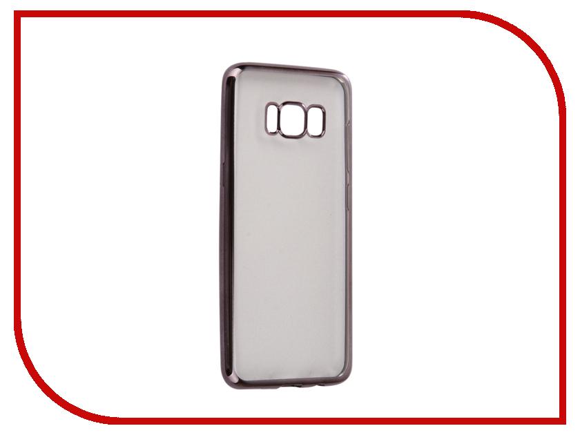 Аксессуар Чехол Samsung Galaxy S8 Neypo Silicone Aura Grey Metallic NSTA0200