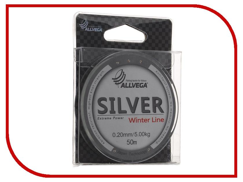 Леска Allvega Silver 50m 0.22mm SIL50022