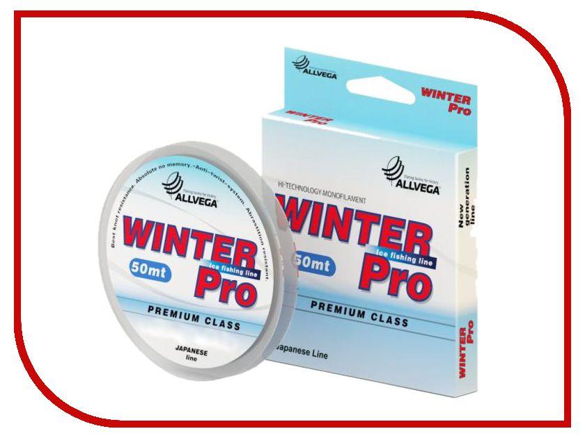 Леска Allvega Winter Pro 50m 0.097mm Transparent WPRO5097