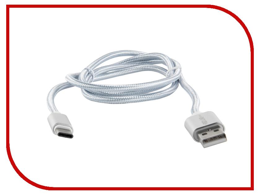 Аксессуар Red Line USB - Type-C 2.0 Silver УТ000011693