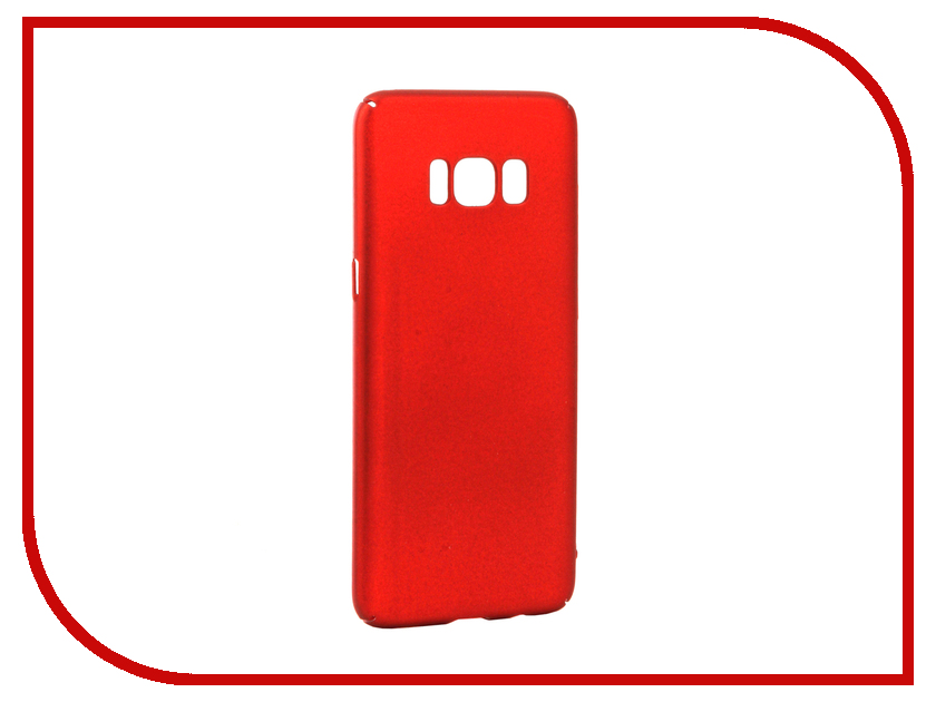 Аксессуар Чехол Samsung Galaxy S8 iBox Fresh Red