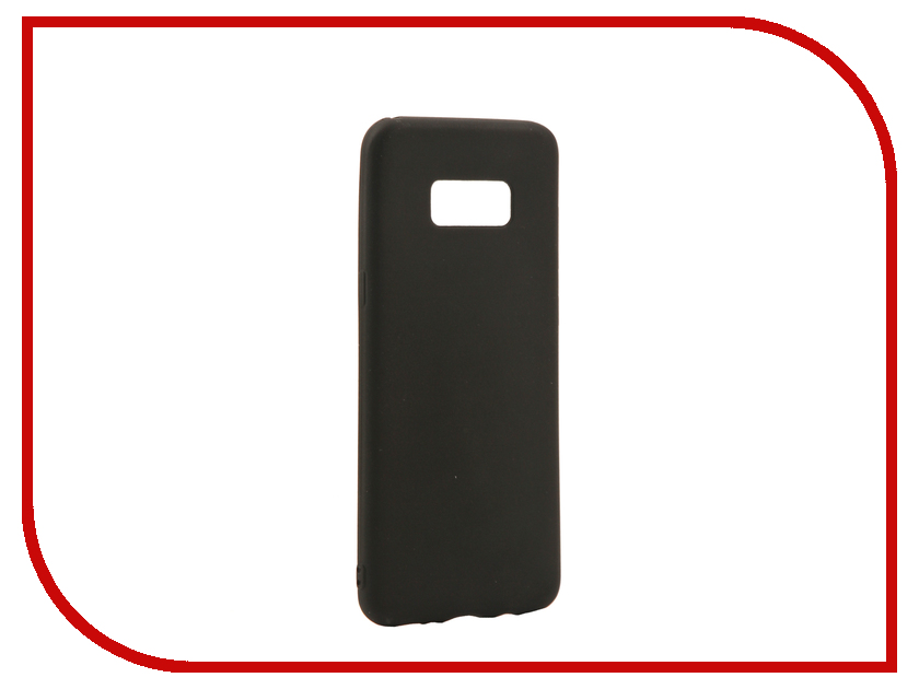 Аксессуар Чехол для Samsung Galaxy S8 Plus Neypo Silicone Soft Matte Black NST2276 nillkin protective matte plastic back case for samsung galaxy alpha g850f black