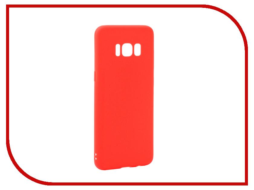 Аксессуар Чехол Samsung Galaxy S8 Neypo Silicone Soft Matte Red NST2911
