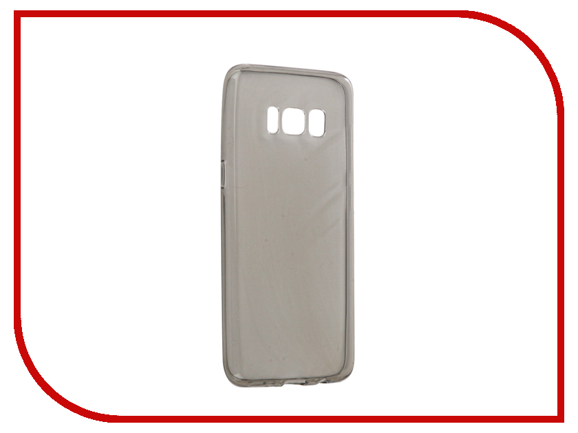 Аксессуар Чехол Samsung Galaxy S8 Neypo Silicone Transparent-Grey NST0376 аксессуар чехол samsung galaxy a7 2017 with love moscow silicone russia 5090
