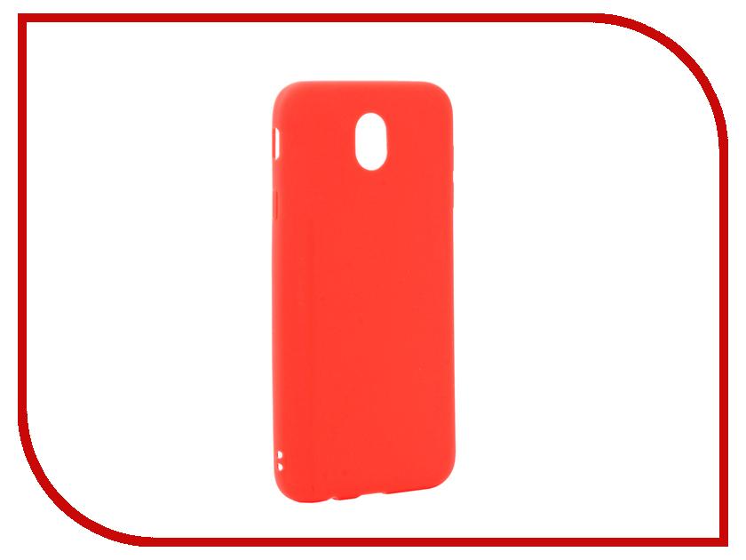 Аксессуар Чехол Samsung Galaxy J7 2017 J730 Neypo Silicone Soft Matte Red NST2564 цены онлайн