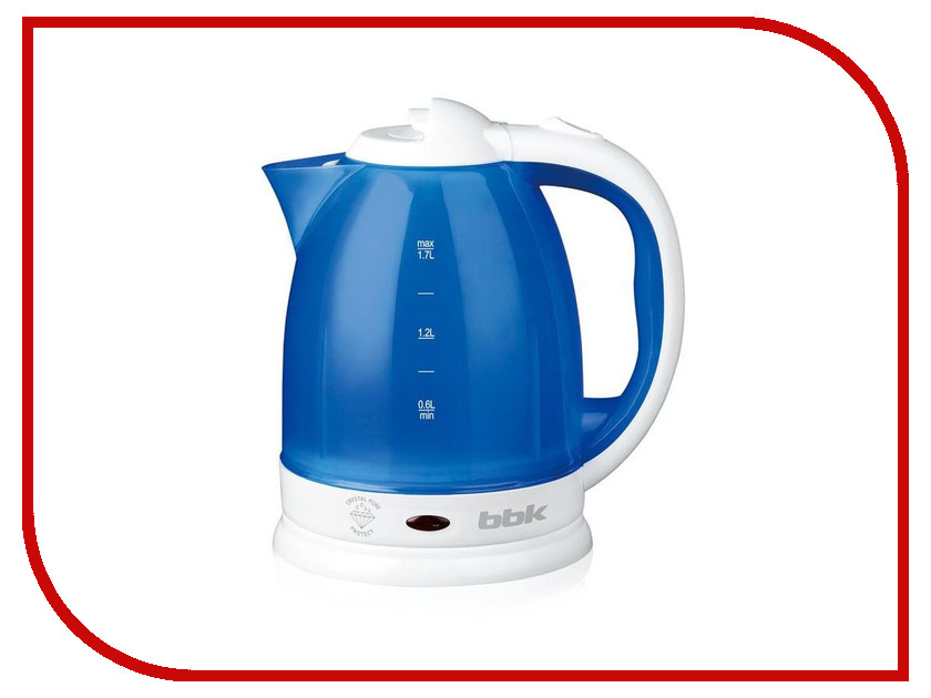 Чайник BBK EK1755P White Light-Blue
