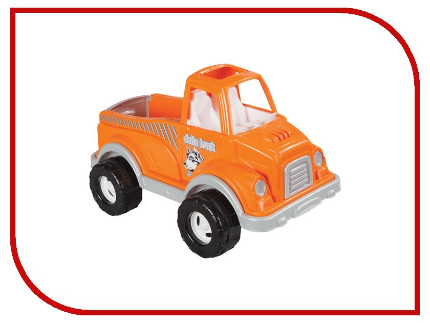 Машина Pilsan Delta Truck Orange 06-506 грузовик pilsan delta truck цвет зеленый 06 506