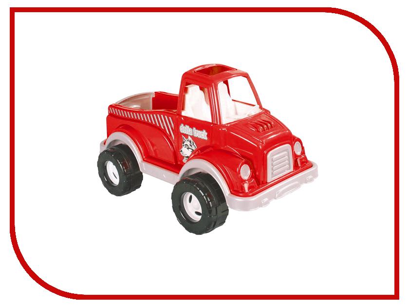Машина Pilsan Delta Truck Red 06-506 грузовик pilsan delta truck цвет зеленый 06 506