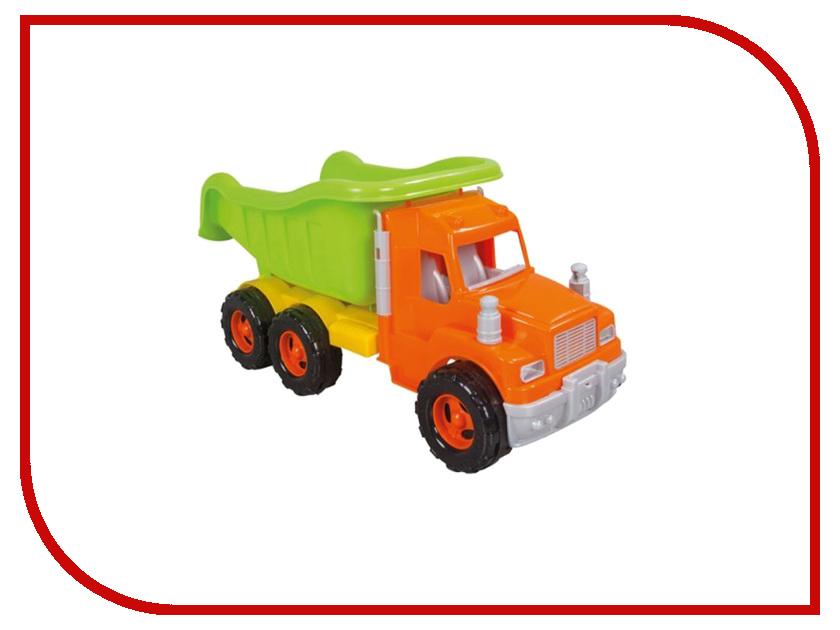 Машина Pilsan Mak Truck Green-Orange 06-611