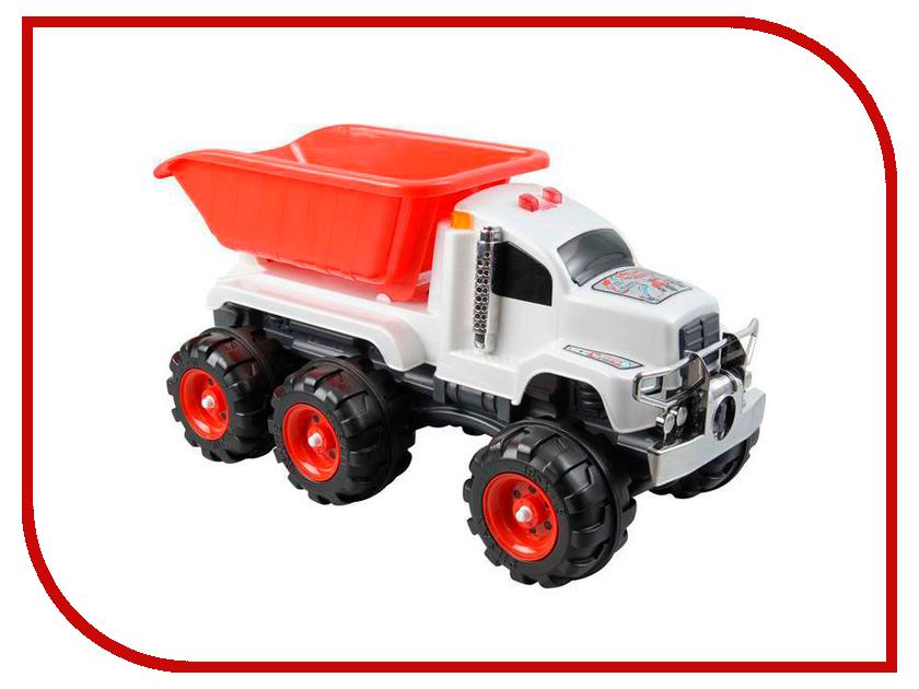 Машина Pilsan Crazy Truck White-Red 06-609