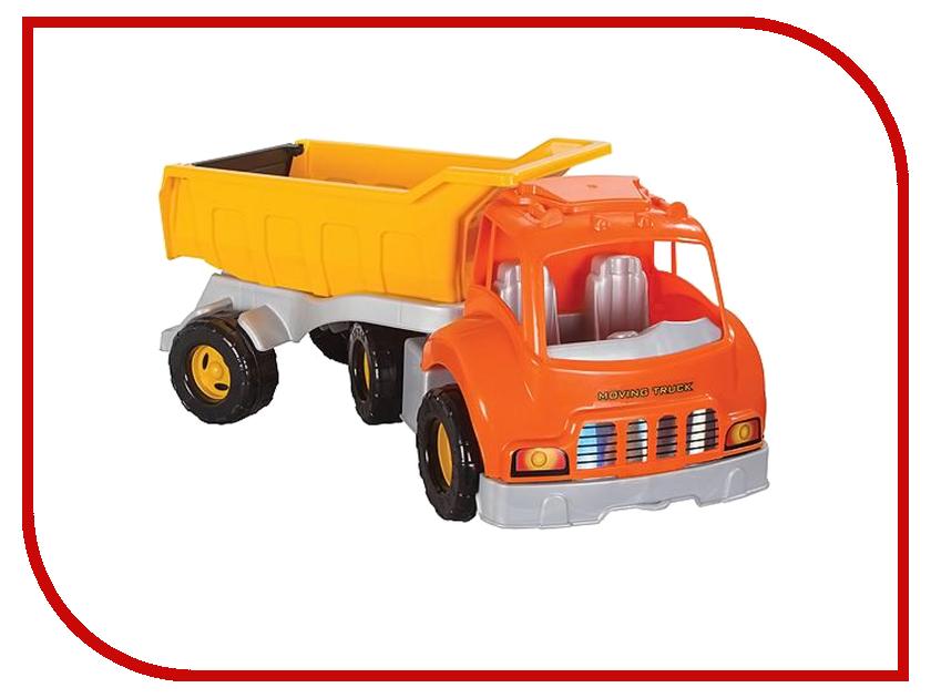 Игрушка Pilsan Moving Truck Orange 06-602 игрушка pilsan delta truck green 06 506