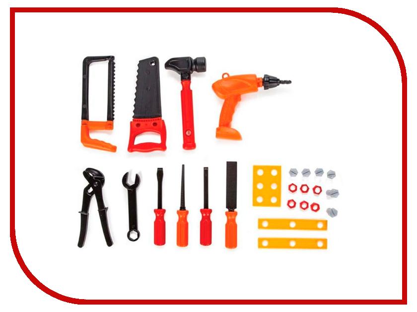Игра Pilsan Tool Set Инструменты 03-230 pilsan игровой набор инструменты tool set в тележке