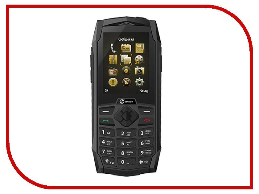 Сотовый телефон Senseit P110 Black