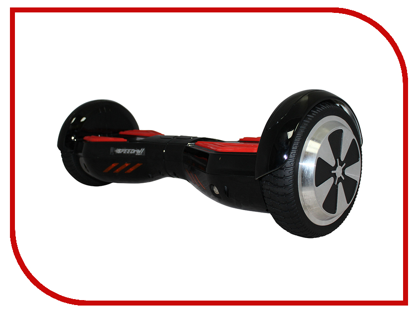 Гироскутер SpeedRoll Transformers 6.5 02LAPP с самобалансировкой Black