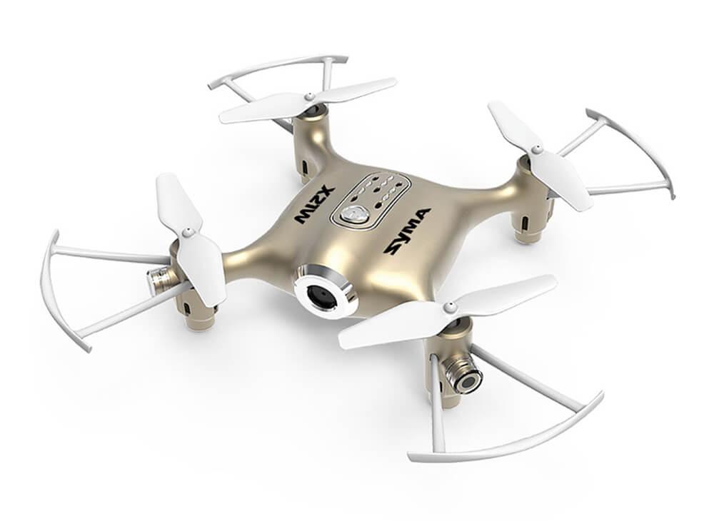 Квадрокоптер Syma X21W Gold квадрокоптер syma x52c gold