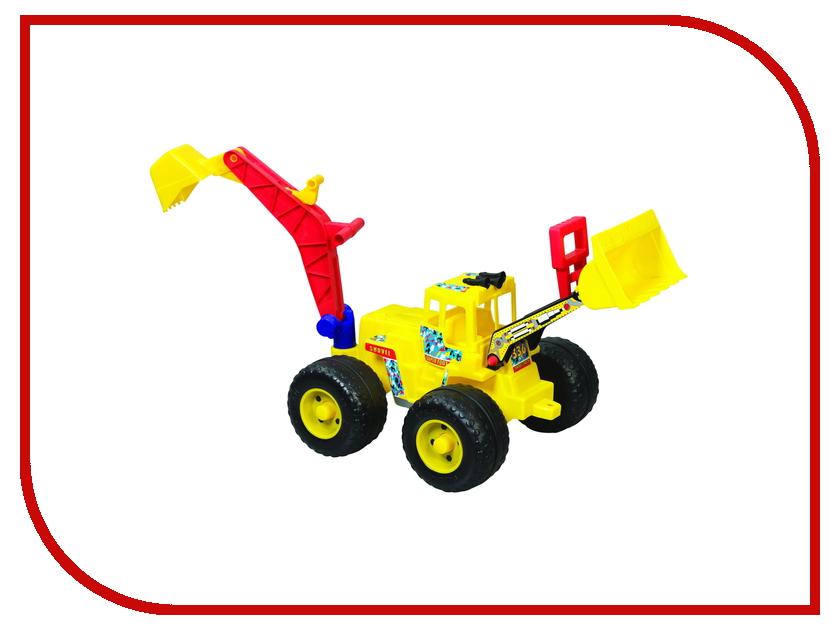 Машина Pilsan Super Dozer 06-206 с ковшом Yellow