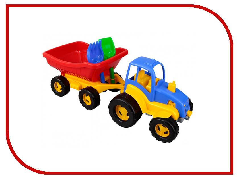 Игрушка Pilsan Трактор 06-209 бу двигатель на трактор