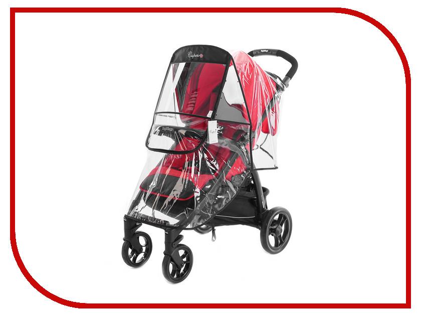 аксессуары для колясок esspero чехлы для колес универсальные Дождевик для колясок Esspero Window Lux Black RV23551512-108071654