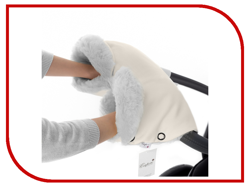 Муфта для коляски Esspero Ingrid (овечья шерсть) Beige 51283378-108073478 балдахин на кроватку esspero shine beige