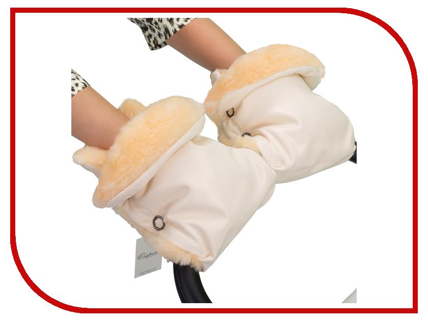 коляски трости esspero all season leather Муфта для коляски Esspero Olsson (овечья шерсть) Cream 51222300-108064196