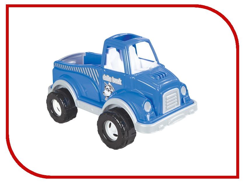 Машина Pilsan Delta Truck Blue 06-506 грузовик pilsan delta truck цвет зеленый 06 506