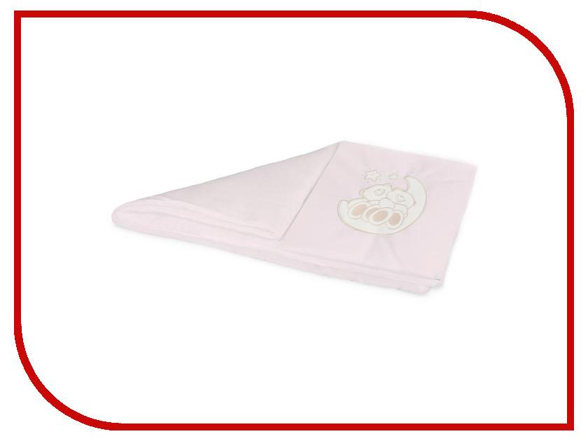 Комплект постельного белья в коляску Esspero Lui Мишки на луне Pink RV51422-109425 матрас универсальный в коляску esspero baby cotton linear 108068282