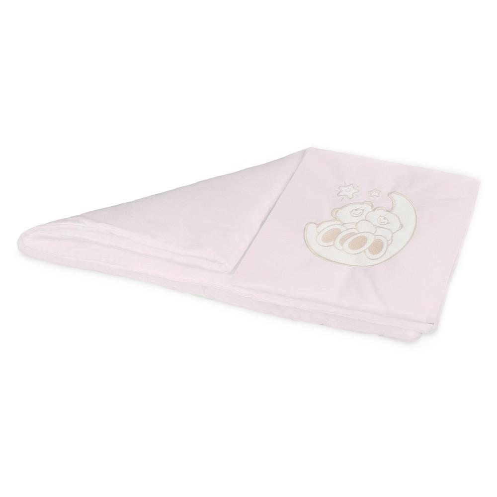 Комплект постельного белья в коляску Esspero Lui Мишки на луне Pink RV51422-109425