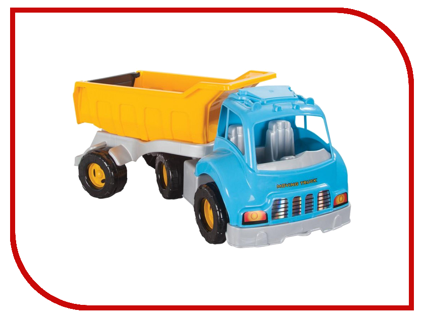 Игрушка Pilsan Moving Truck Blue 06-602 игрушка pilsan delta truck green 06 506