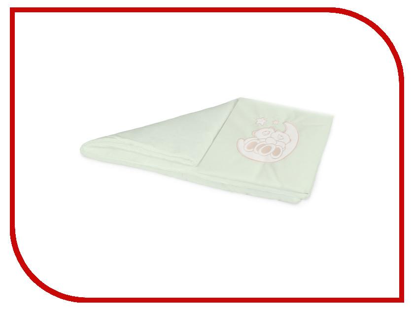 Комплект постельного белья в коляску Esspero Lui Мишки на луне Green RV51422-108068081 матрас универсальный в коляску esspero baby cotton linear 108068282