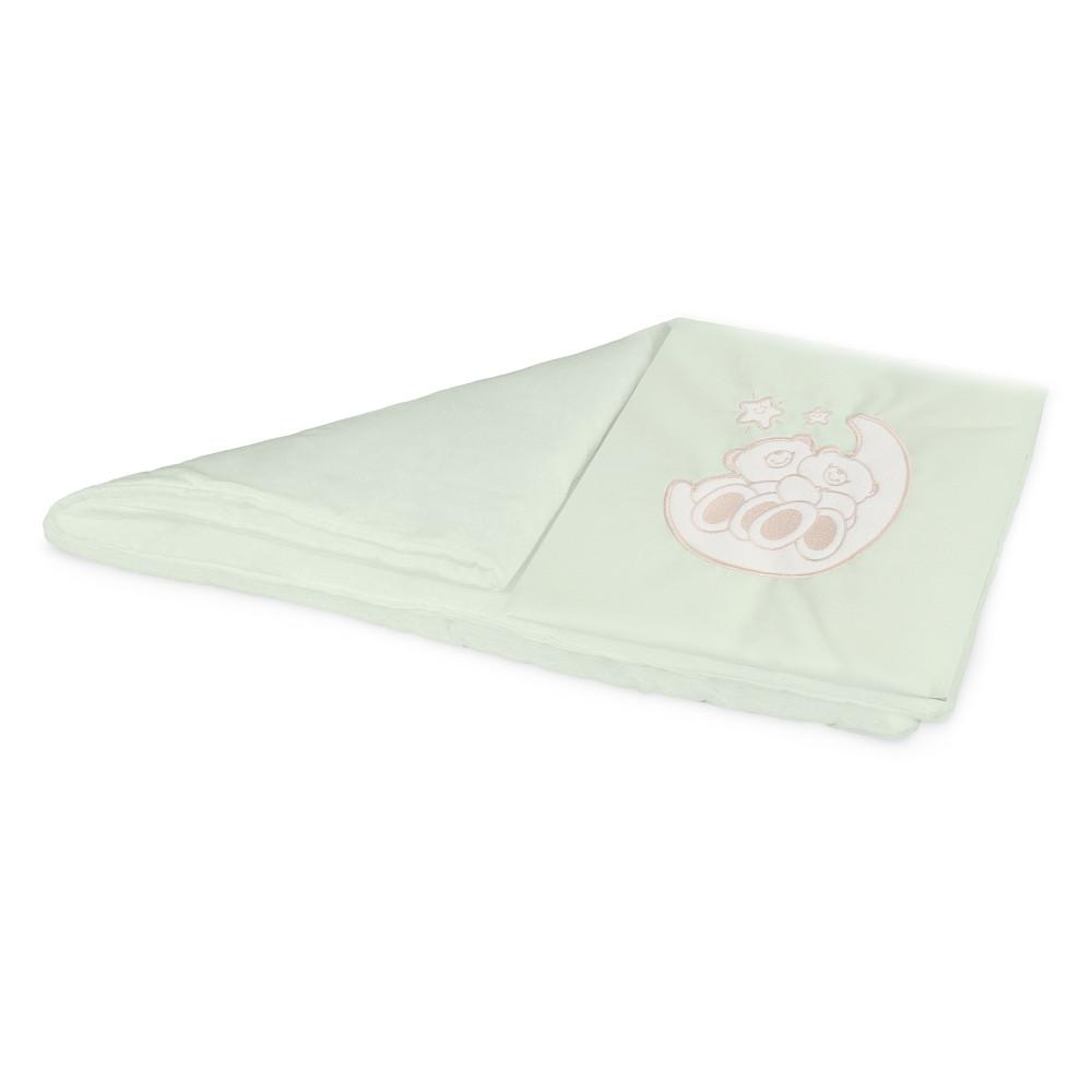 Комплект постельного белья в коляску Esspero Lui Мишки на луне Green RV51422-108068081